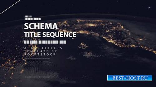 Schema - Digital Title Sequence - After Effects Template (RocketStock)