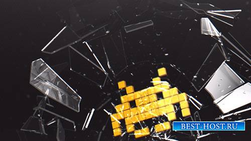 Breaking Glass Logo 8338913 - Project for After Effects (Videohive)