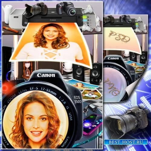 Рамка для фото - Цифровые технологии
