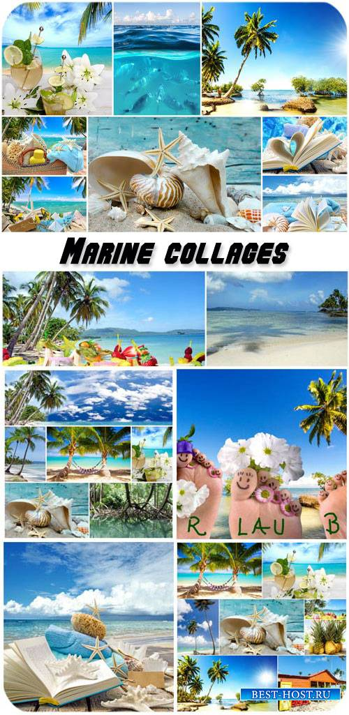Marine collages