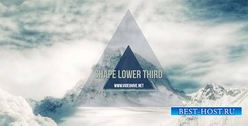 Shape Lower Third - Project for After Effects (Videohive)