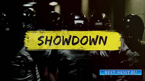 Showdown - Gritty Slideshow - After Effect Template (RocketStock)