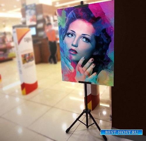 Рамка для фотографий - Картина на выставке