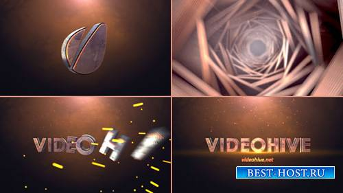 Cinematic Tunnel Logo Text Reveal - Project for After Effects (Videohive)