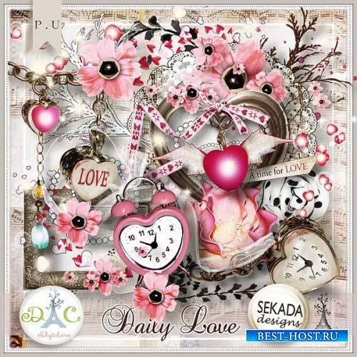 Романтический скрап-набор - Daily love