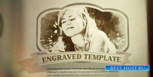 Engraved Vintage Book - Project for After Effects (Videohive)