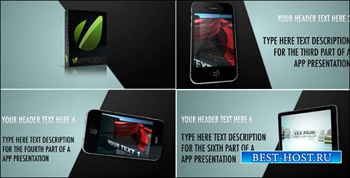 Mobile App Promo - Project for After Effects (Videohive)