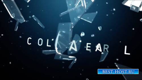 Collateral - 3D Glass Logo Reveal - After Effects Template (RocketStock)