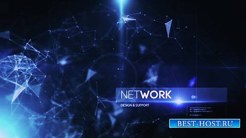 Plexus Inspire Corporate Tech Intro - Project for After Effects (Videohive)