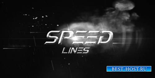 Speed Lines - Project for After Effects (Videohive)