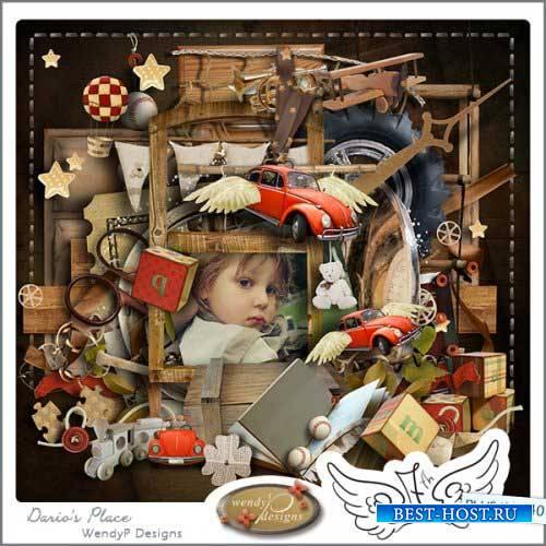 Детский скрап-набор - Darios place