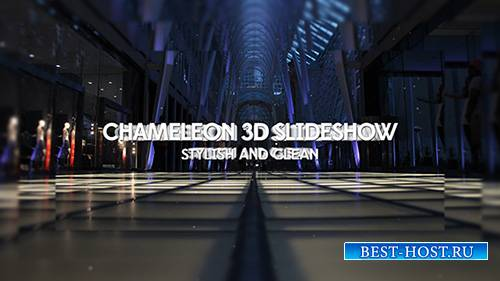 Chameleon 3D Slideshow - Project for After Effects (Pond5)