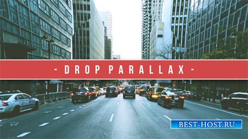 DROP PARALLAX - After Effects Template