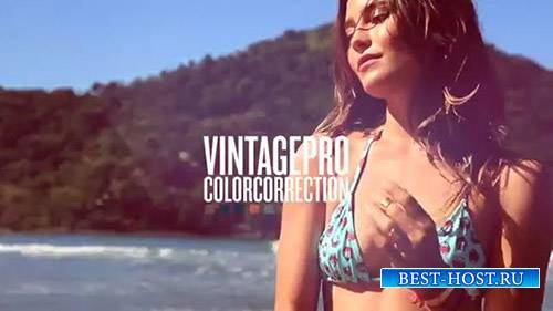 VintagePro color correction - After Effects Presets