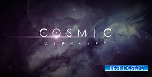 Cosmic Alphabet - Project for After Effects (Videohive)