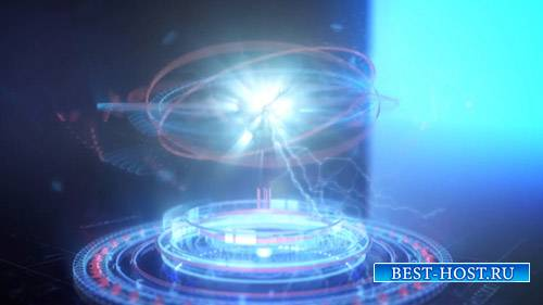 Futuristic Energy Circles Logo - Project for After Effects (Videohive)