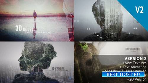 2D и 3D двойной пакет экспозиции - Project for After Effects (Videohive)