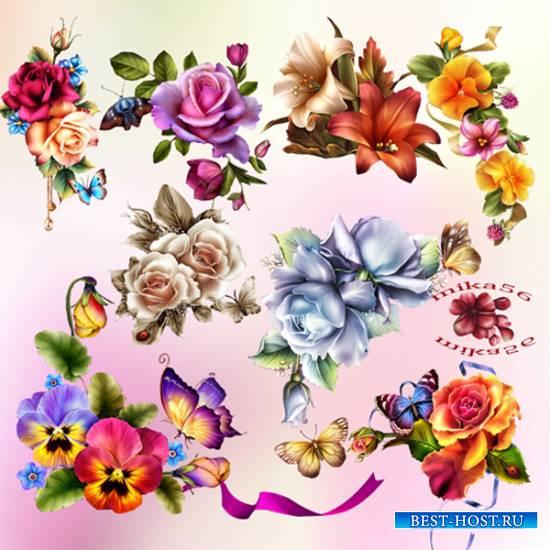 Клипарт – Удивительные цветы Barnali Bagchi