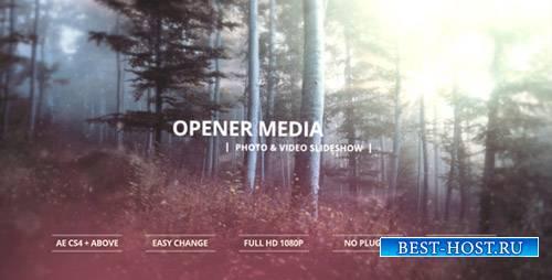 Медиа Открытие - Фото И Видео Слайд-Шоу - Project for After Effects (Videoh ...