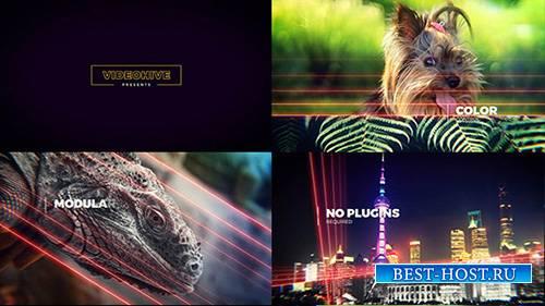 Световые линии Слайд-шоу - Project for After Effects (Videohive)