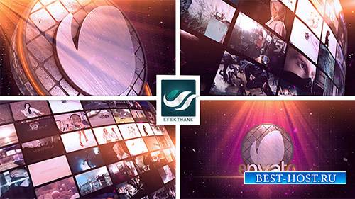 Логотип Стены Видео - Project for After Effects (Videohive)