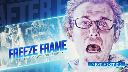 Замораживание Трейлер Кадров - Project for After Effects (Videohive)