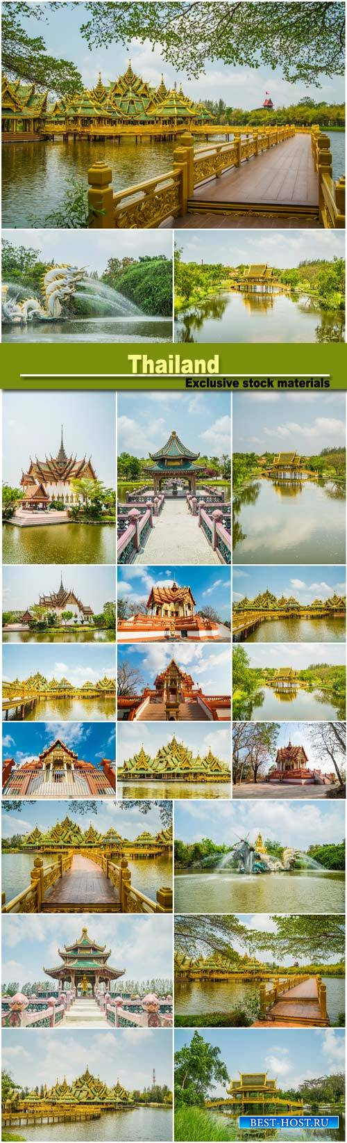 Pavilion of the Enlightened, Ancient City, Thailand