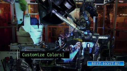 Система - Технология слайд-шоу - After Effects Шаблон (RocketStock)
