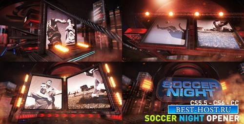 Футбол Ночь - Project for After Effects (Videohive)