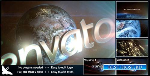 Мир Логотип - Project for After Effects (Videohive)