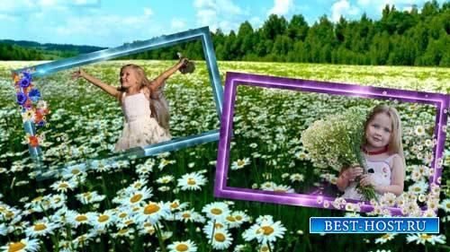 Футаж рамки - Рамки цветов