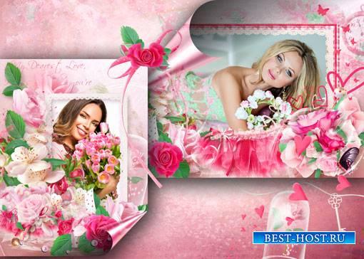 Фоторамка - Аромат розы