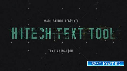 "Инструмент ""Текст"" Хайтек- Project for After Effects (Videohive)"