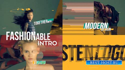 Модные Интро - Project for After Effects (Videohive)