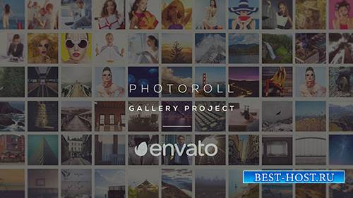 Фоторолл - Галерея - Project for After Effects (Videohive)