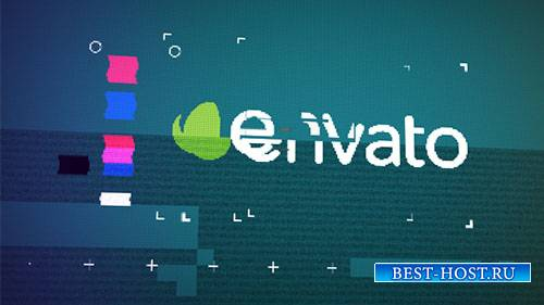 Логотип Глюк Раскрыть - Project for After Effects (Videohive)