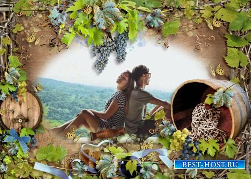 Фоторамка - Виноградная лоза