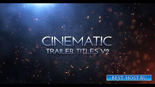 Кинематографические названия v2 - Project for After Effects (Videohive)