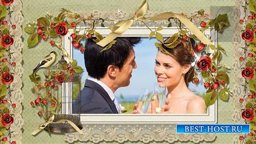 Романтический свадебный проект-альбом 35 для ProShow Producer