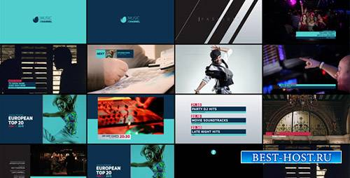 Телеканал ребрендинг - Project for After Effects (Videohive)