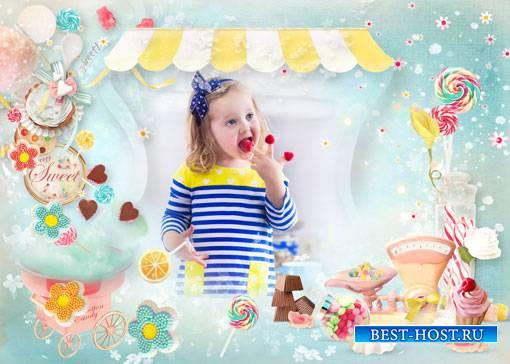 Фоторамка - Моя сладкая конфетка
