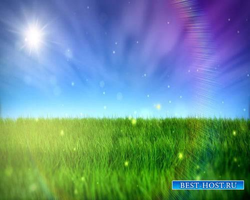 Футаж фона - Летний день