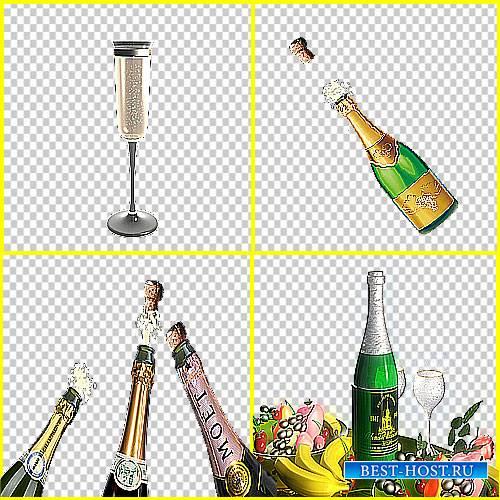 Футаж эффектов - Брызги шампанского