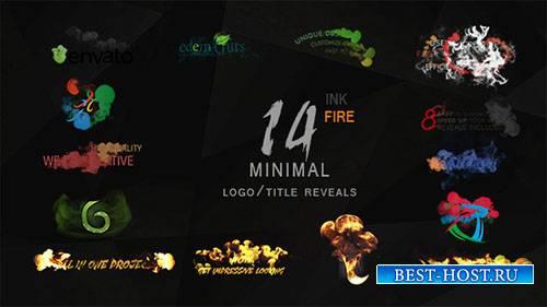 Минимальный чернил и огонь логотип/Название раскрывает пакет - Project for  ...
