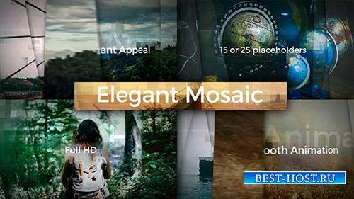 Элегантные Мозаики Открывалка - Project for After Effects (Videohive)