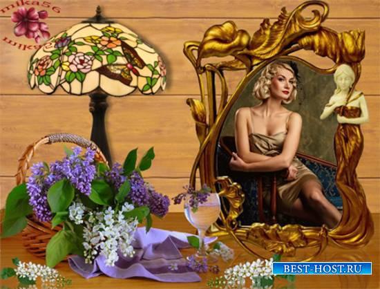 Рамка женская – Черёмуха душистая
