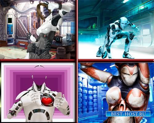 Шаблоны - Роботы в лабаратории