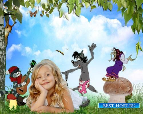 Футаж детский - Веселая компания