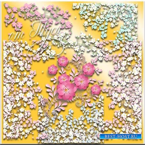 Нежные цветы - Клипарт
