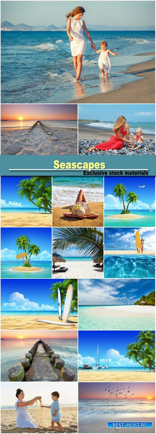 Seascapes, people of the sea